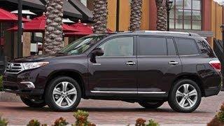 2012 Toyota Highlander Start Up And Review 3.5 L V6