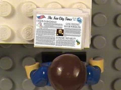 Mass Media - Well after a several year absence from brickfilming I'm back with my new film