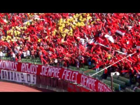 Tifo Caracas vs Tachira - Los Demonios Rojos - Caracas