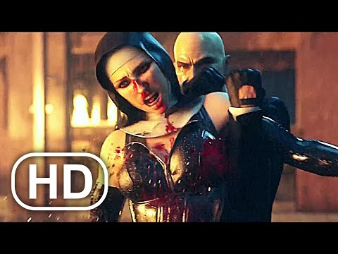 Nuns With Guns Fight Hitman Agent 47 FULL Fight Scene Cinematic HD - Hitman Absolution Cinematics