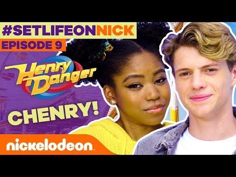 Jace & Riele Talk About CHENRY! 😍 #BTS Ep. 9 | #SetLifeOnNick