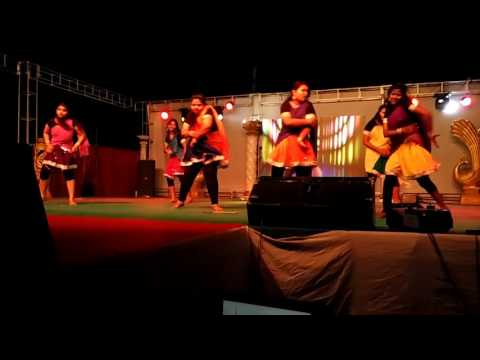 Girls Group Dance | Anugoonj 2k16 | Gcek Bhawanipatna