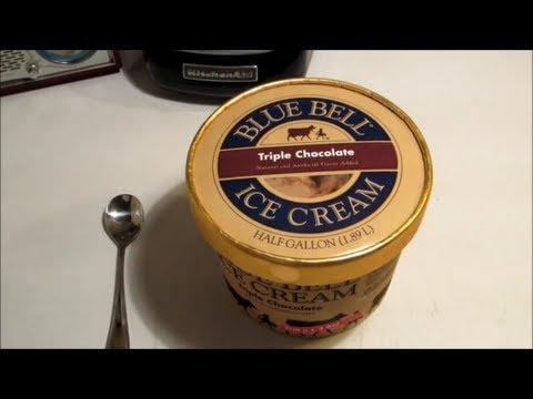 The World's Best Ice Cream Blue Bell Triple Chocolate