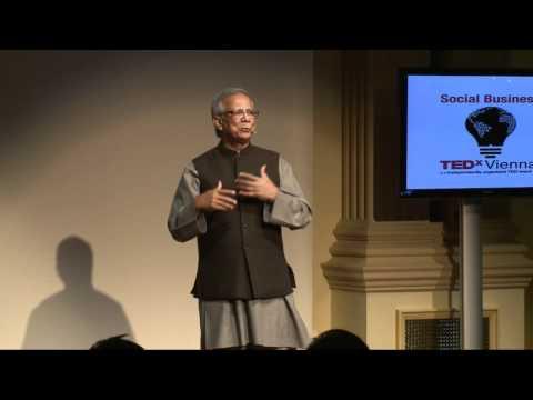 Muhammad Yunus om mikro-kreditter