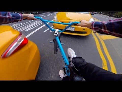 GoPro BMX Bike Riding in NYC 8 (видео)