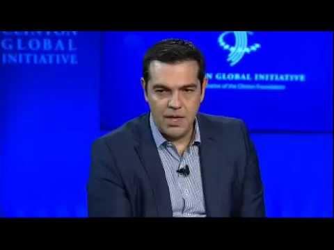 Ο Αλέξης Τσίπρας στο ετήσιο Συνέδριο του Clinton Global Initiative στη Νέα Υόρκη