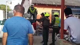 Alteración del orden público por hurto de teléfono en el  barrio El Porvenir de Soledad
