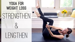 Video Yoga For Weight Loss | Strengthen and Lengthen MP3, 3GP, MP4, WEBM, AVI, FLV Maret 2018