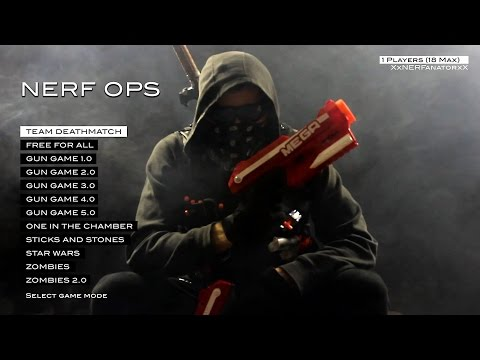 NERF OPS (Entire Nerf First Person Shooter Collection in 4K!)