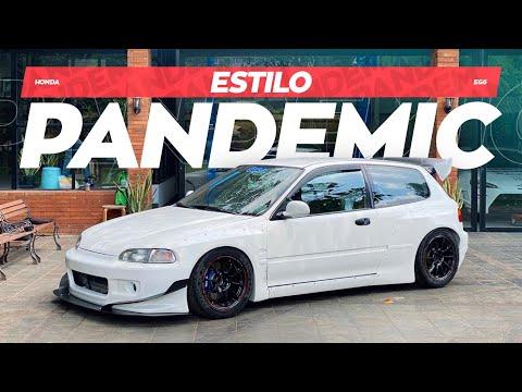 Honda Estilo Dengan Bodykit Pandem | Pandemic, Pandem Civic