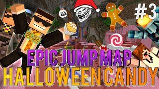 Epic Jump Map: Halloween Candy FINALE ep3 w/ SkyDoesMinecraft, Deadlox and MinecraftUniverse