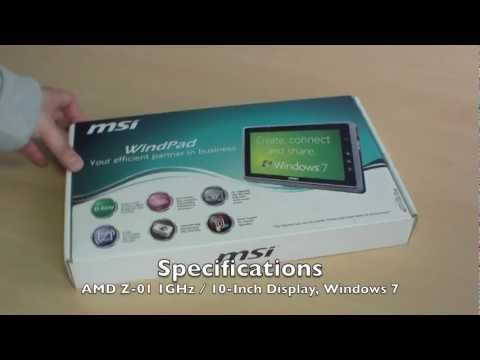 Exclusive MSI WindPad 110W Unboxing and Hands On