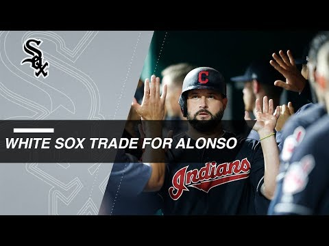 Video: White Sox acquire Yonder Alonso from the Indians