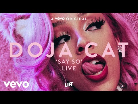 Doja Cat - Say So (Live Performance) | Vevo LIFT