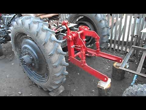 Как сделать навеску к самадельному трактору