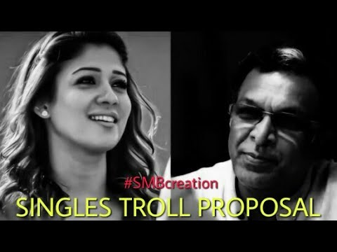 Video Thanioruvan Nayanthara Cute Proposal Singles Troll WatsappStatus SMBcreation download in MP3, 3GP, MP4, WEBM, AVI, FLV January 2017