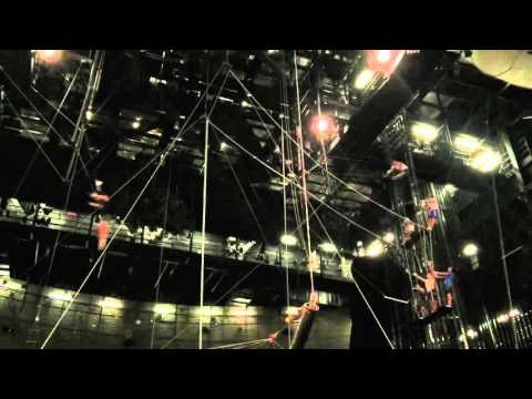 World Record Cirque Du Soleil La Nouba first ever Double Double Full Full to the legs !!!!
