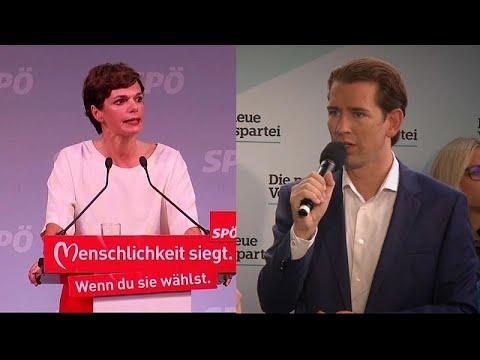 Αυστρία: Προβάδισμα Κουρτς λίγο πριν ανοίξουν οι κάλπες…