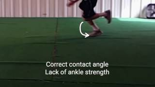A Common Mistake Athletes Make When Sprinting That No One Talks About.