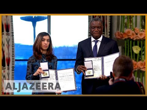 🏆World's indifference to sexual violence must end: Nobel laureates | Al Jazeera English