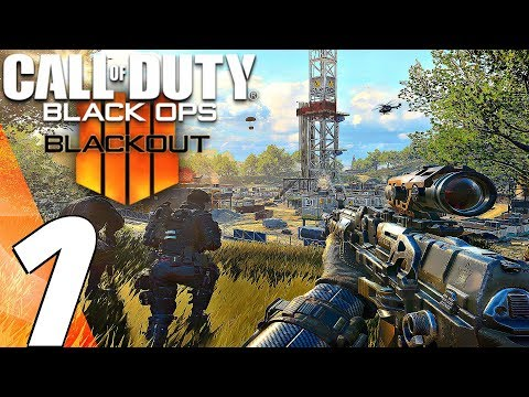 Call of Duty Black Ops 4 - BLACKOUT Gameplay Walkthrough Part 1 - Battle Royale (Full Game)