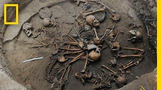 Video Pre-Aztec Skeletons Found Arranged in Spiral Shape   National Geographic MP3, 3GP, MP4, WEBM, AVI, FLV Maret 2019