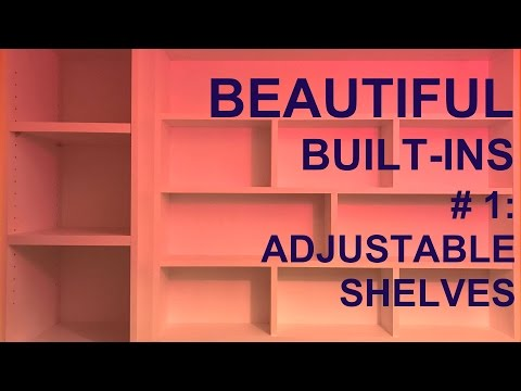 Built in Shelves Part 1 #004