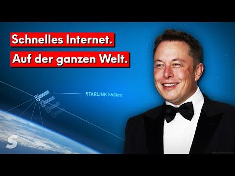Wie Elon Musk das Internet revolutionieren will