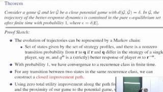 Dynamics in Near-Potential Games - Asu Ozdaglar