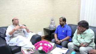 Union HM Minister Rajnath Singh Interview with Uday India Weekly