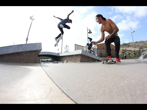 Line Day at Alga Norte Skatepark
