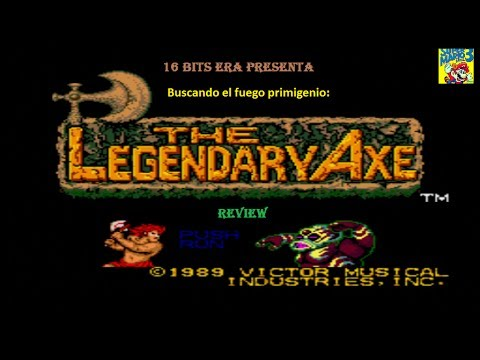 The Legendary Axe PC Engine