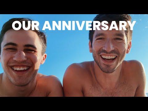 CELEBRATING OUR 1 YR ANNIVERSARY *GASP* | CHRIS & IAN