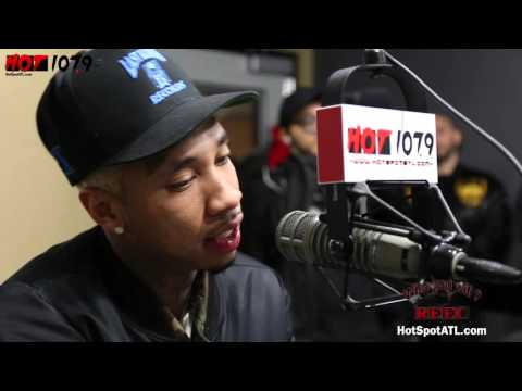Tyga Stops Through To Talk Music, Movies & Is He Still With Kylie Jenner, with Reec on Hot107.9