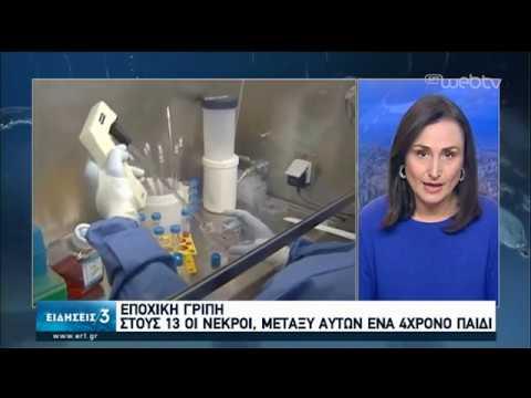 Έξαρση της γρίπης-Στη ΜΕΘ Ρίου δίχρονο παιδάκι | 24/01/2020 | ΕΡΤ