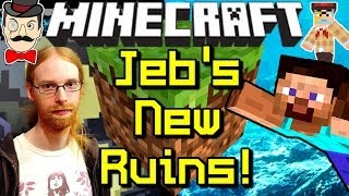 Minecraft News JEB'S UNDERWATER RUINS Coming Soon!
