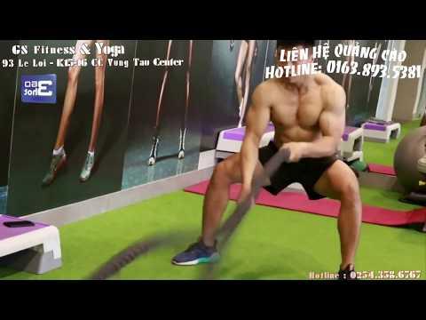 Clip hỗ trợ quảng cáo cho Phòng Gym GS Vũng Tàu - Team 360hot 😘