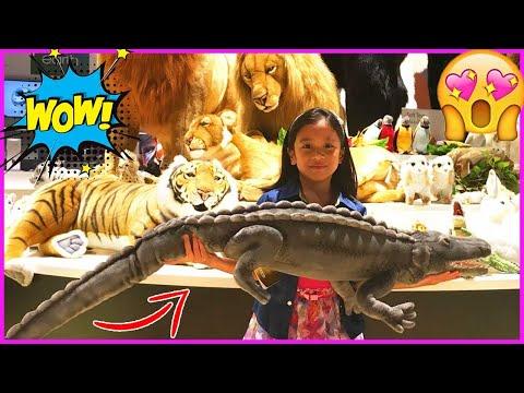 REALISTIC STUFFED TOYS and ANIMALS VIDEO COLLECTION for Kids   ORBI Dubai   Fun EqualsBella