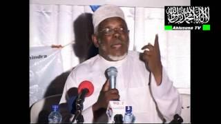 Mawaidha Sheikh Jabir Yusuf Katura wa Mwanza Tz  na Sheikh Juma Amir wa Nairobi Kenya  By Ahmed Ahlu