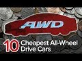 Wheel Drive Cars: The Short List | Most Affordable AWD Sedans and Wagons