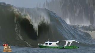 Video Boats Caught Inside Massive Waves 3 MP3, 3GP, MP4, WEBM, AVI, FLV Januari 2019