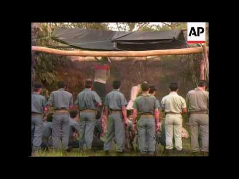 GUATEMALA: TWO MEN EXECUTED BY FIRING SQUAD