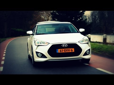 2013 Hyundai Veloster Turbo Review - Hartvoorautos.nl - English Subtitled