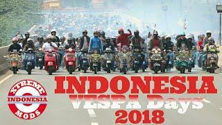 Video INDONESIA VESPA Days 2018 MP3, 3GP, MP4, WEBM, AVI, FLV Desember 2018