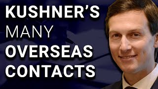 --After getting caught lying on his security clearance disclosure form three times over contacts with Russians, Jared Kushner has updated his list of foreign contacts to now include over one hundred nameshttps://www.nytimes.com/2017/07/12/us/politics/trump-says-son-is-innocent-amid-reports-of-russia-meeting.htmlhttp://thehill.com/homenews/administration/341844-kushner-updated-disclosure-to-add-more-than-100-foreign-contactsTagadab: http://signup.tagadab.com/tdps--On the Bonus Show: R. Kelly allegedly runs a cult of young women, Ann Coulter furious with Delta Airlines, the great coffee measuring experiment, and much more...Become a Member: https://www.davidpakman.com/membershipSupport us on Patreon: https://www.patreon.com/davidpakmanshowSupport TDPS by clicking (bookmark it too!) this link before shopping on Amazon: http://www.amazon.com/?tag=thedavpaksho-20David's Instagram: http://www.instagram.com/david.pakmanWebsite: https://www.davidpakman.comDiscuss This on Reddit: http://www.reddit.com/r/thedavidpakmanshow/Support Our Sponsors: http://www.influencerbridge.com/davidpakmanFacebook: http://www.facebook.com/davidpakmanshowTDPS Twitter: http://www.twitter.com/davidpakmanshowDavid's Twitter: http://www.twitter.com/dpakmanTDPS Gear: http://www.davidpakman.com/gear24/7 Voicemail Line: (219)-2DAVIDPSubscribe to The David Pakman Show for more: http://www.youtube.com/subscription_center?add_user=midweekpoliticsTimely news is important! We upload new clips every day, 6-8 stories! Make sure to subscribe!Broadcast on July 18, 2017