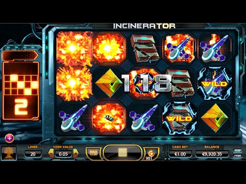 Yggdrasil Incinerator Slot - Wild Pattern Feature