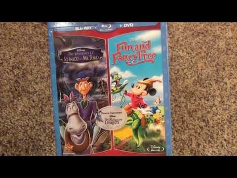 Disney Fun and Fancy Free/The Adventures of Ichabod and Mr. Toad Blu-Ray Collection Unboxing