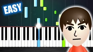 Mii Channel Theme - EASY Piano Tutorial by PlutaX