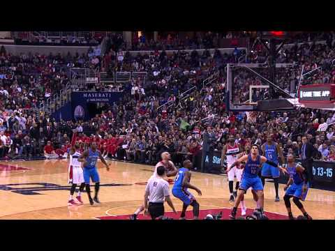 Video: Thunder Pull Off Thrilling Win Over Wizards in D.C.
