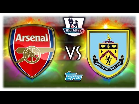 ARSENAL LONDON - BURNLEY 22.01.17 | TOPPS PREMIER LEAGUE ORAKEL